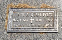 Elaine A. <I>Bubak</I> Foltz