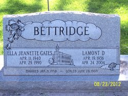 Ella Jeannette Bettridge