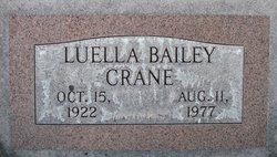 Luella <I>Bailey</I> Crane