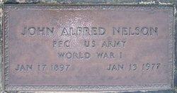 PFC John Alfred Nelson