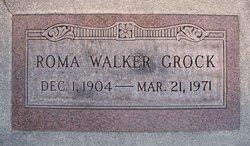 Roma Afton <I>Walker</I> Grock