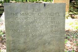 Rachel <I>Bagwell</I> Cannon