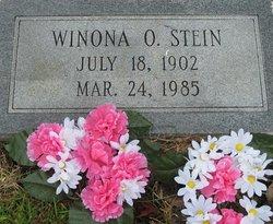 Winona Elizabeth <I>Oulliber</I> Stein