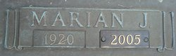 Marian Jane <I>Hildebrand</I> Braden