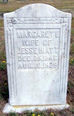 Margaret Elizabeth <I>Whitaker</I> Hiatt