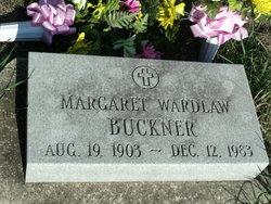 Margaret Wilkinson <I>Wardlaw</I> Buckner