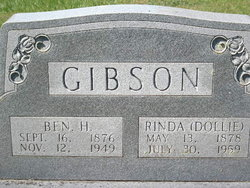 Benjamin Hiram Gibson