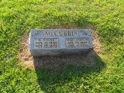 Mary <I>Dobson</I> McCubbin
