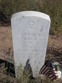 David A Baca