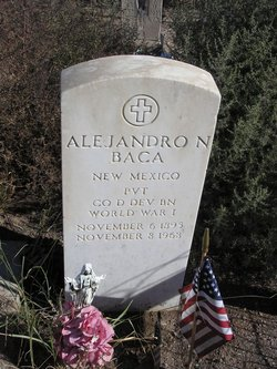 Pvt Alejandro N Baca