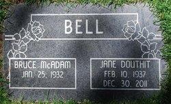 Jane <I>Douthit</I> Bell