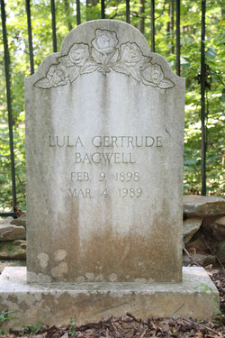 """Tulula Gertrude """"Lula"""" Bagwell"""
