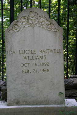 Ida Lucile <I>Bagwell</I> Williams