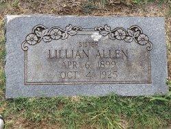 Lillian <I>Duncan</I> Allen