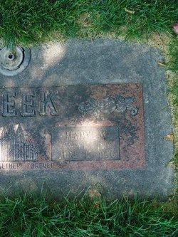 Mary Green <I>Weaver</I> Peek