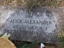 Hazel Alice Alexander