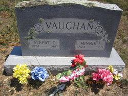 Minnie <I>Liera Thacker</I> Vaughan