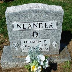 Olympia <I>Parshook-</I> Neander