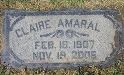 Cynthia Claire <I>McDowell</I> Amaral