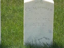Isaac E Alderman