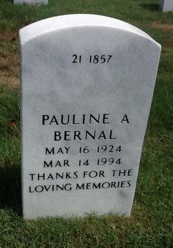 "Pauline ""Paula"" <I>Acosta</I> Bernal"