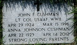 John F Cushman