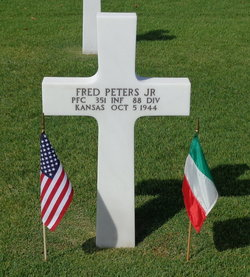 PFC Fred Peters, Jr