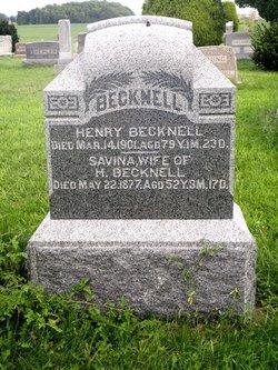 Savina Becknell