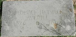Frederick Hatwick Averill