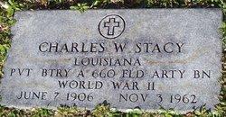 Charles W Stacy