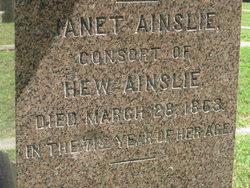 Janet <I>Ainslie</I> Ainslie