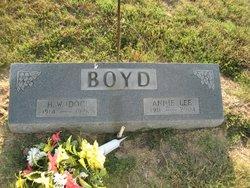Annie Lee <I>Little</I> Boyd