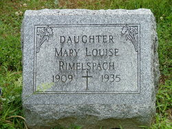 Mary Louise Rimelspach