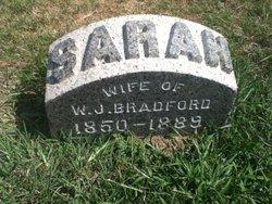 Sarah <I>Pettys</I> Bradford