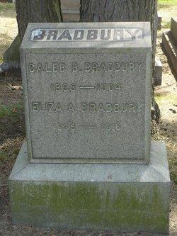 Eliza A <I>Fletcher</I> Bradbury