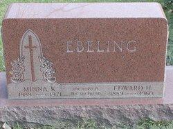Minnie Bertha <I>Kuecker</I> Ebeling