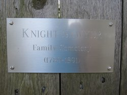 Sawyer-Knight Family Cemetery