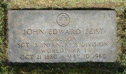 John Edward Feist