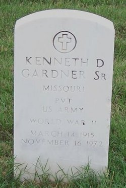 Kenneth D Gardner, Sr