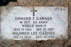 Sgt Edward F Garner