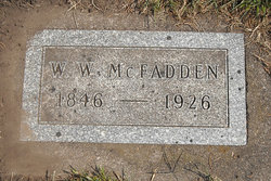 William W McFADDEN