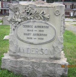 Mary <I>McCord</I> Anderson