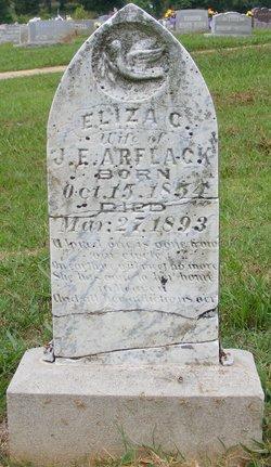 """Elizabeth Catherine """"Eliza"""" <I>Walker</I> Arflack"""