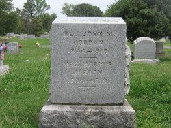 Rev John Morris Jordan