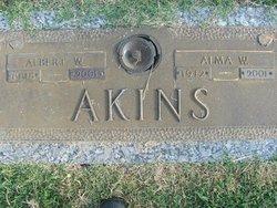 Albert W Akins