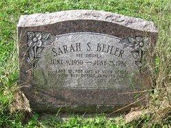Sarah S. <I>Smoker</I> Beiler
