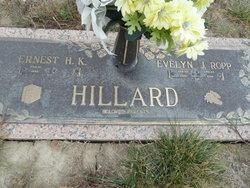 Evelyn J. <I>Ropp</I> Hillard