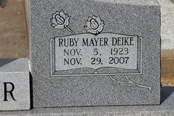 Ruby Annie Mayer <I>Birck</I> Deike