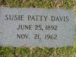 Susan E <I>Patty</I> Davis