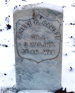 Pvt Ernest C Gamble